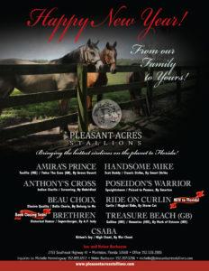Pleasant Acres Stallions W2W Dec 30