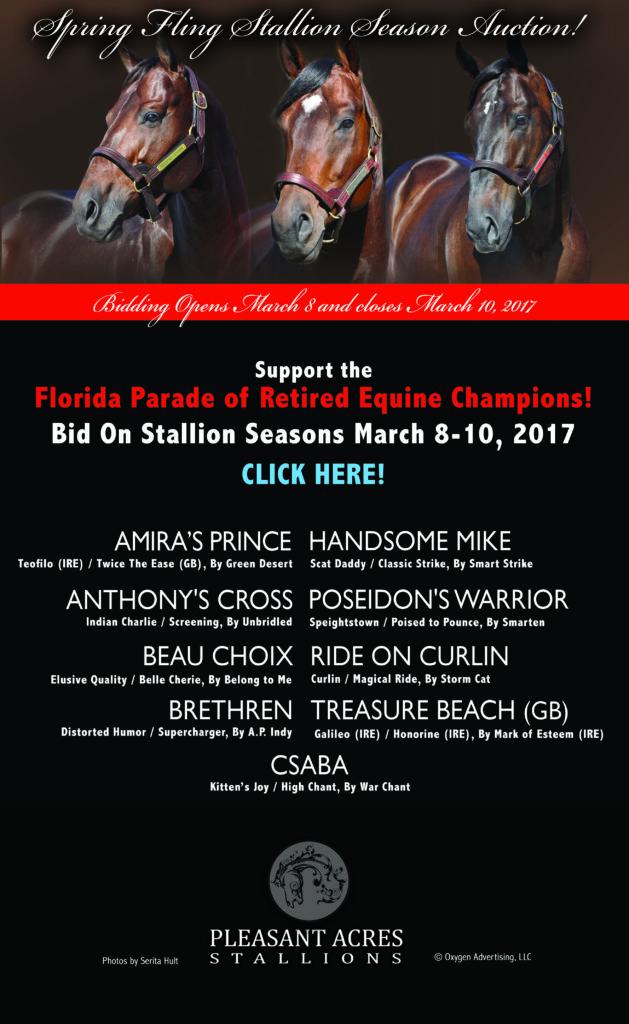 Florida Parade of Retired Equine Champions
